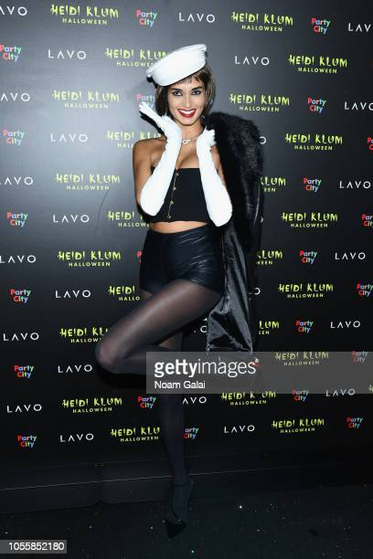 Gizele Oliveira attends Heidi Klum's 19th Annual Halloween Party presented by Party City and SVEDKA Vodka at LAVO New York on October 31 2018 in New...