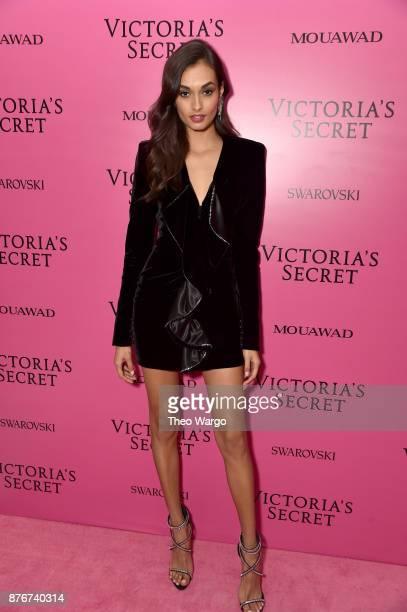 Gizele Oliveira attends the 2017 Victoria's Secret Fashion Show In Shanghai After Party at MercedesBenz Arena on November 20 2017 in Shanghai China