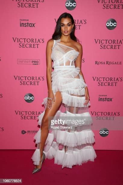 Gizele Oliveira attends the 2018 Victoria's Secret Fashion Show After Party on November 8 2018 in New York City