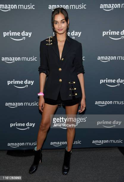 Gizele Oliveira attends the 2019 Amazon Prime Day Concert on July 10 2019 in New York City