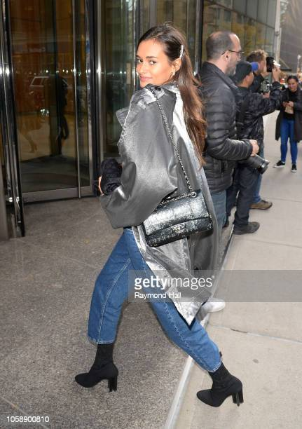 Gizele Oliveira seen in the streets of Manhattan before the rehearsal of the Victoria Secret Fashion Showon November 7 2018 in New York City