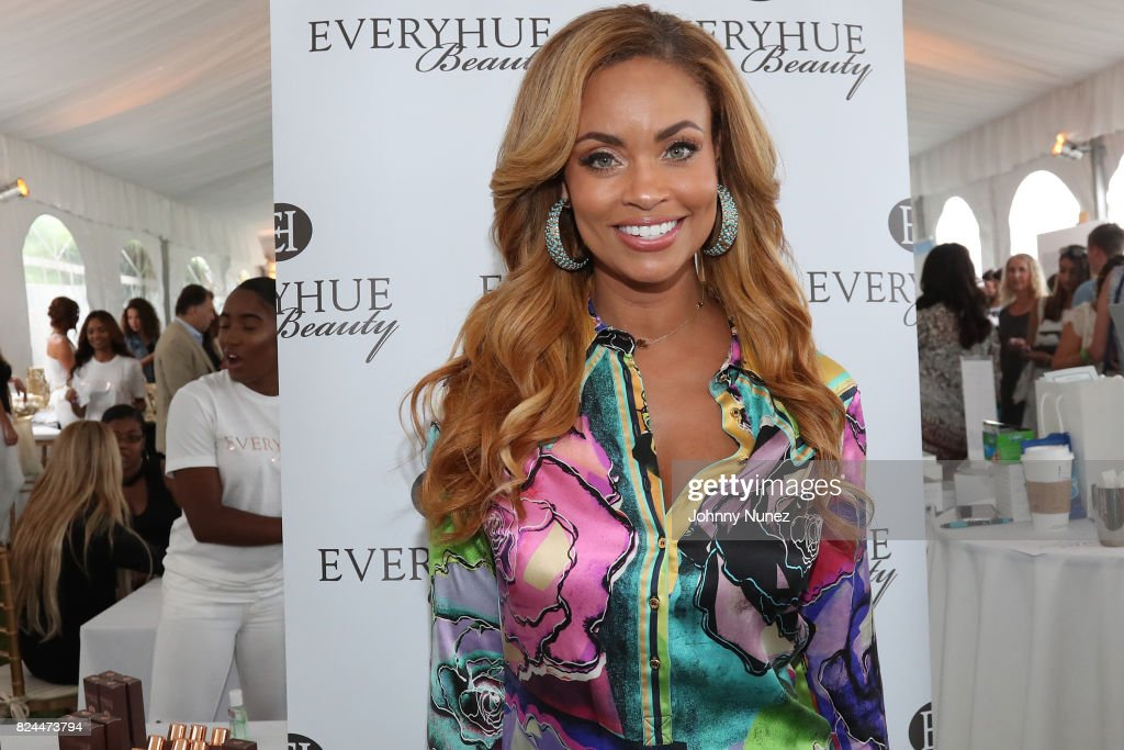 Gizelle Bryant attends the Jill Zarin's 5th Annual Luxury Luncheon on July 29, 2017 in Southampton, New York.