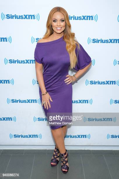 Gizelle Bryant visits the SiriusXM Studios on March 30 2018 in New York City
