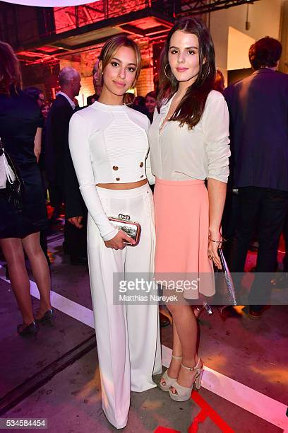 Gizem Emre and Ruby O Fee during the New Faces Award Film 2015 at ewerk on May 26 2016 in Berlin Germany