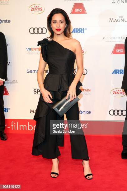 Gizem Emre during the German Film Ball 2018 at Hotel Bayerischer Hof on January 20 2018 in Munich Germany