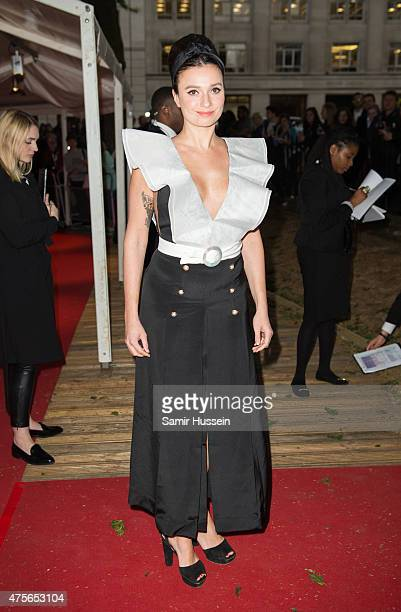 Gizzi Erksine attends the Glamour Women of the Year Awards at Berkeley Square Gardens on June 2 2015 in London England
