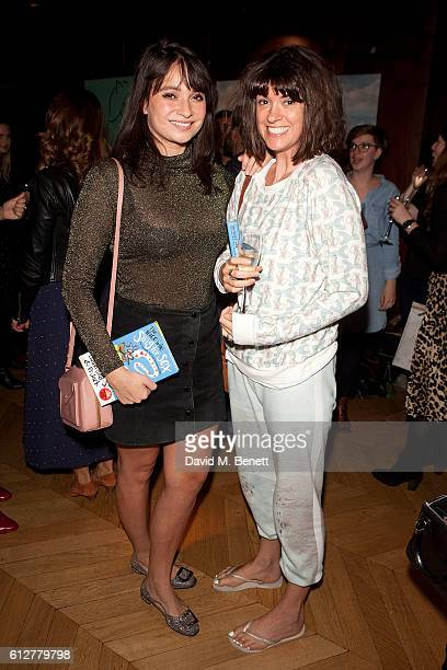 Gizzi Erskine and Dawn O'Porter attend the launch of new book 'The Mice Who Sing For Sex And Other Weird Tales From The World Of Science' by Lliana...