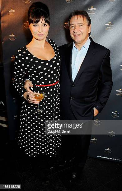 Gizzi Erskine and Raymond Blanc attend a party hosted by Katherine Jenkins and Raymond Blanc to celebrate the launch of Martell Very Special Nights a...