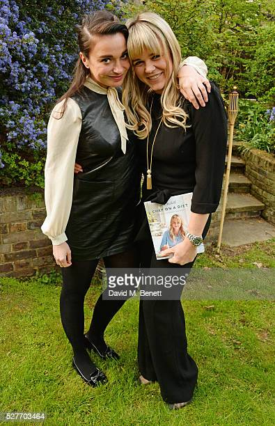 Gizzi Erskine and Sophie Michell attend the launch of chef Sophie Michell's new book 'Chef On A Diet' at 3 Vincent Square on May 3 2016 in London...