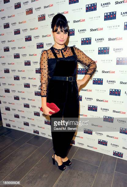 Gizzi Erskine at The View from The Shard on October 23 2013 in London England
