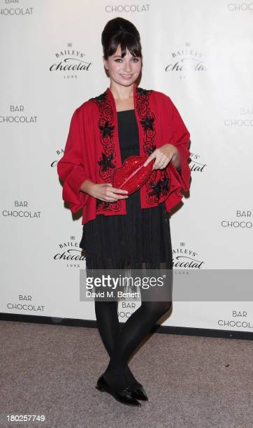 Gizzi Erskine attends the launch of Baileys Chocolat Luxe at Bar Chocolat Covent Garden on September 10 2013 in London England