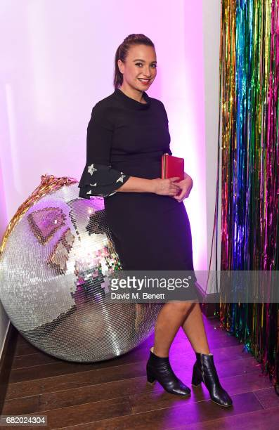Gizzi Erskine attends the launch of The Curtain in Shoreditch on May 11 2017 in London England