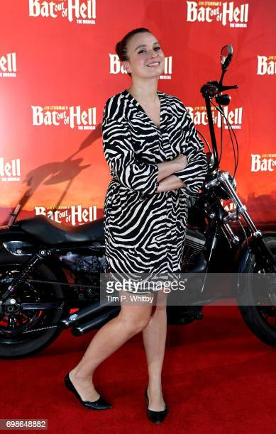 Gizzi Erskine attends the press night of Bat Our Of Hell The Musical at The London Coliseum on June 20 2017 in London England