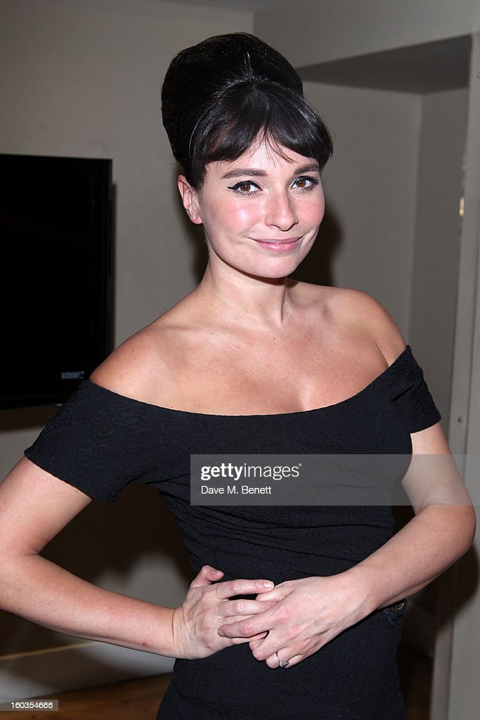 Gizzi Erskine attends the Sharpham Park preview launch of the Great British Spelt Recipe E-Book at The Athenaeum on January 29, 2013 in London, England.