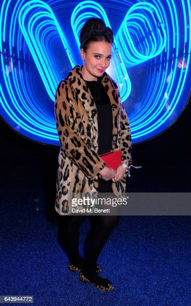 Gizzi Erskine attends The Warner Music Ciroc Brit Awards After Party on February 22 2017 in London England