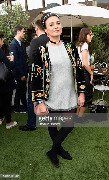 Gizzi Erskine attends Warner Music Group Summer party in association with British GQ and Quintessentially on July 6 2016 in London England