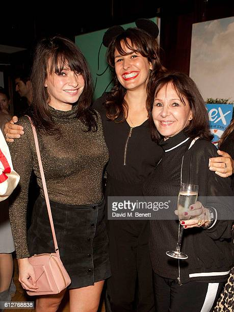Gizzi Erskine Lliana Bird and Arlene Phillips attend the launch of new book 'The Mice Who Sing For Sex And Other Weird Tales From The World Of...