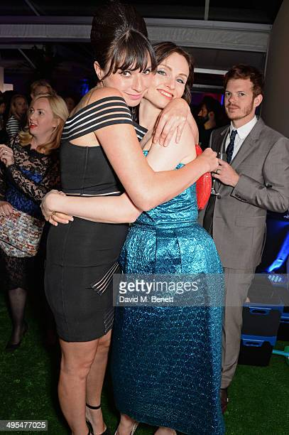Gizzi Erskine Sophie Ellis Bextor and Richard Jones attend the Glamour Women of the Year Awards after party in Berkeley Square Gardens on June 3 2014...
