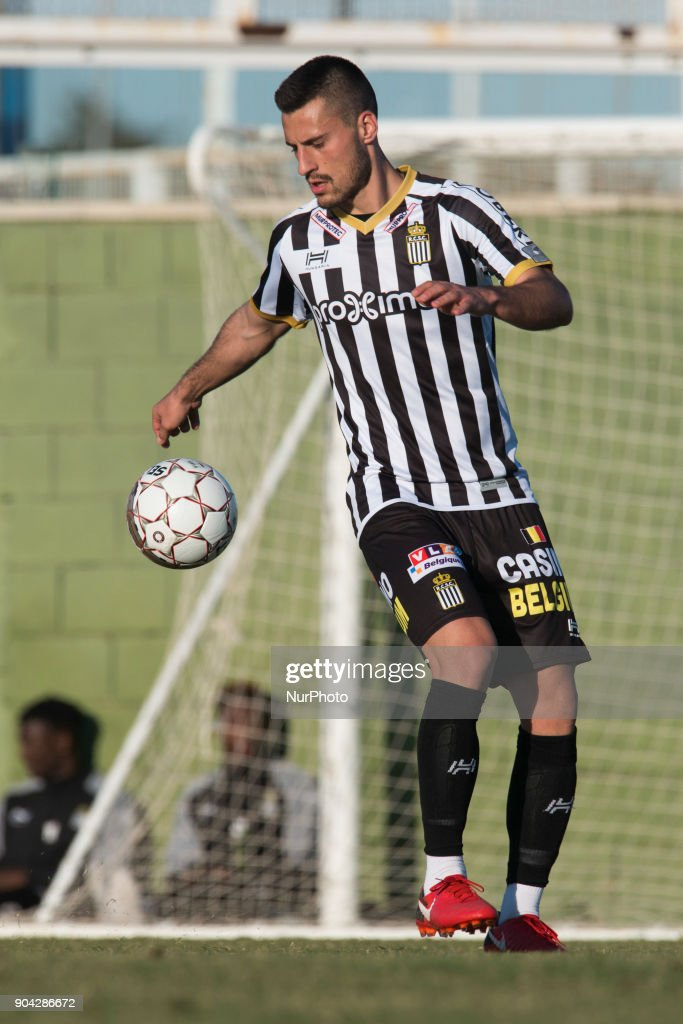 Gjoko Zajkov during the friendly match between Royal Charleroi SC vs.Yanbian Funde FC at Pinatar Arena, Murcia, SPAIN. 10th January of 2018.