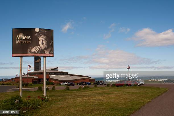 glace bay miners museum - cape breton island stock pictures, royalty-free photos & images