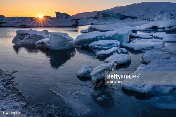 glaceir lagoon, iceland - don smith stock-fotos und bilder