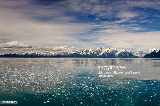 Glacial Waters, Mountains and Blue Sky Alaska