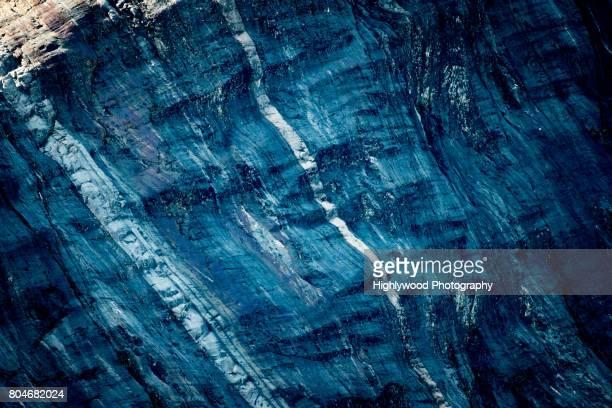 glacial-carved rock - highlywood - fotografias e filmes do acervo