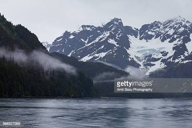 glacier at resurrection bay, alaska - amit basu stock pictures, royalty-free photos & images