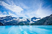 Glacier Bay in Mountains, Alaska, United States