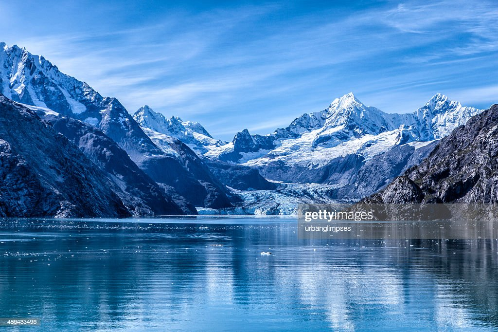 Glacier Bay National Park and Preserve, Alaska : Stockfoto