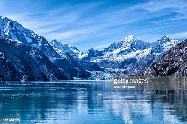 glacier bay national park and preserve, alaska - mountain range stock pictures, royalty-free photos & images