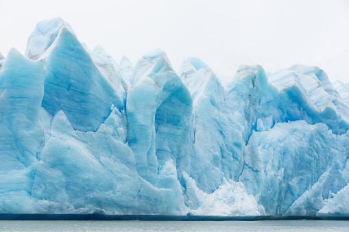 glacier grey in chile 516283568