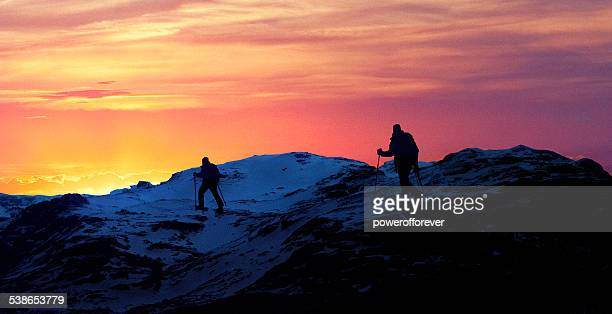 Glacier Hikers in Iceland
