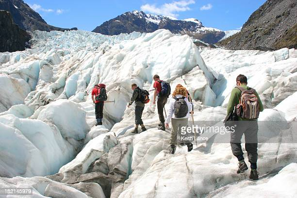 Glacier Hikers