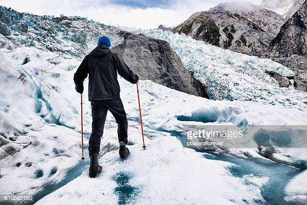 Glacier Hiking on Franz Josef Glacier in New Zealand