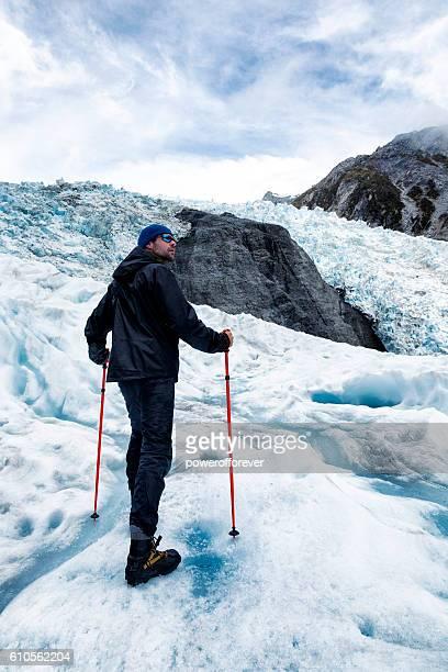 Glacier Hiking on Franz Josef Glacier in New Zealand