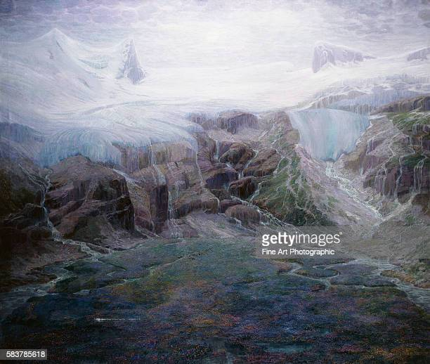 A Glacier in a High Valley by Emile MedizPelikan