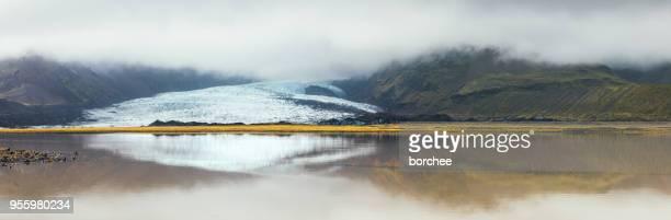 Gletscher im Skaftafell Nationalpark