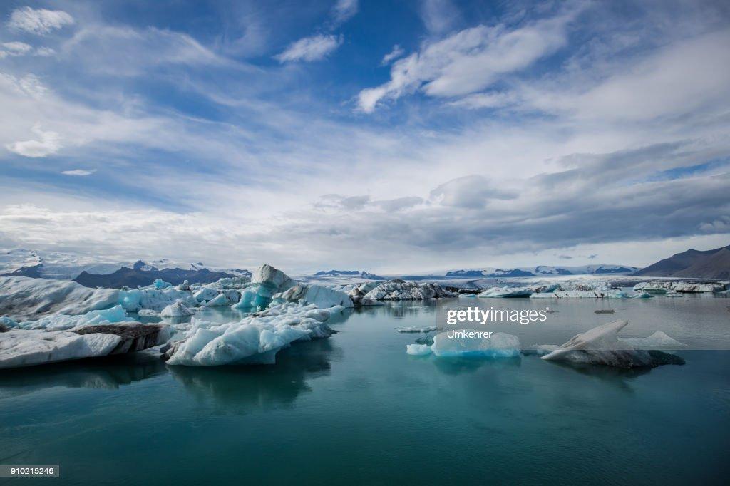 Glacier lagoon iceland jökulsarlon : Stock Photo