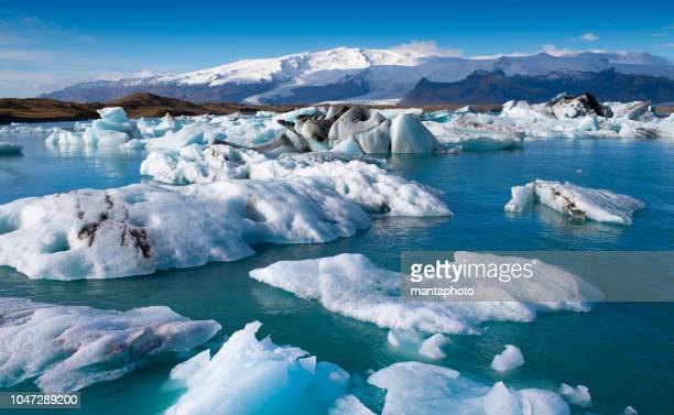 glacier lagoon, iceland - arctic stock pictures, royalty-free photos & images