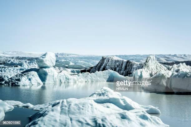 Jökulsárlón på Grönland.