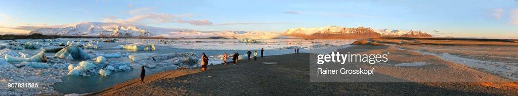Glacier Lagoon Joekulsarlon : Stock-Foto