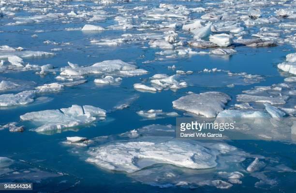 glacier lagoon, jokulsarlon - global warming stock pictures, royalty-free photos & images