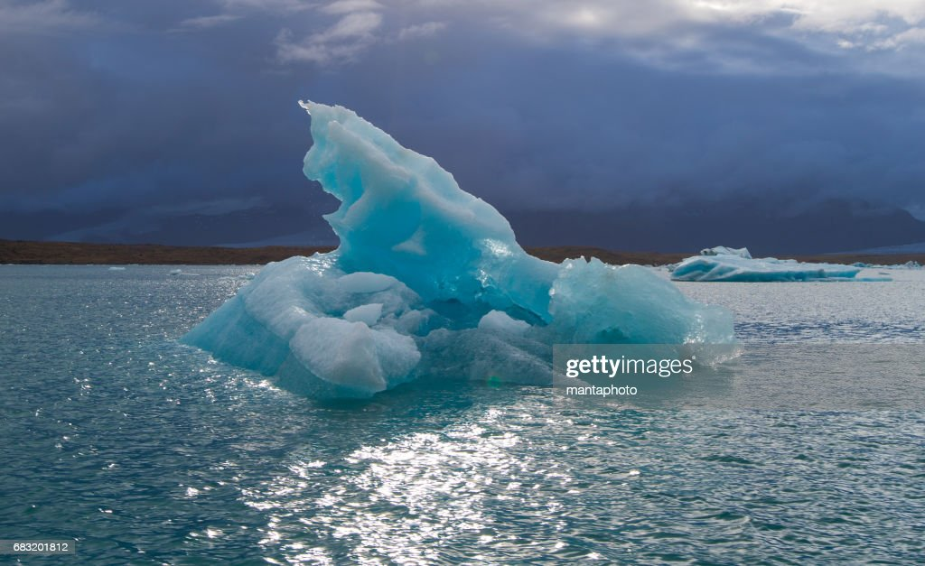Glacier lagoon : Stock Photo