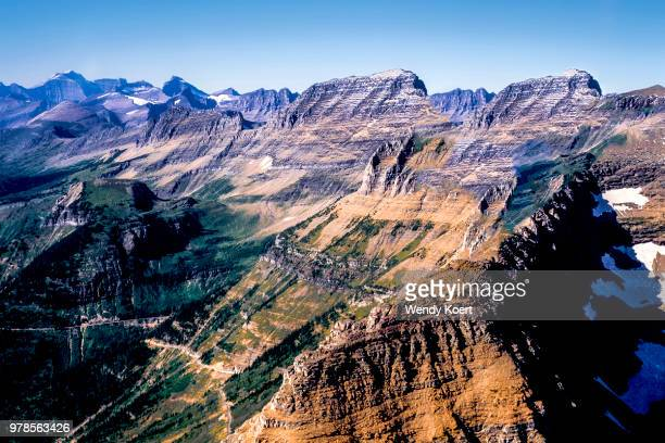 Glacier National Park Continental Divide In MT