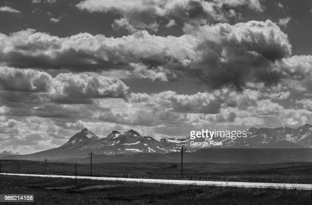 Glacier National Park is viewed from Highway 2 on June 20 near Browning Montana Home to Glacier National Park St Mary and dozens of popular tourist...