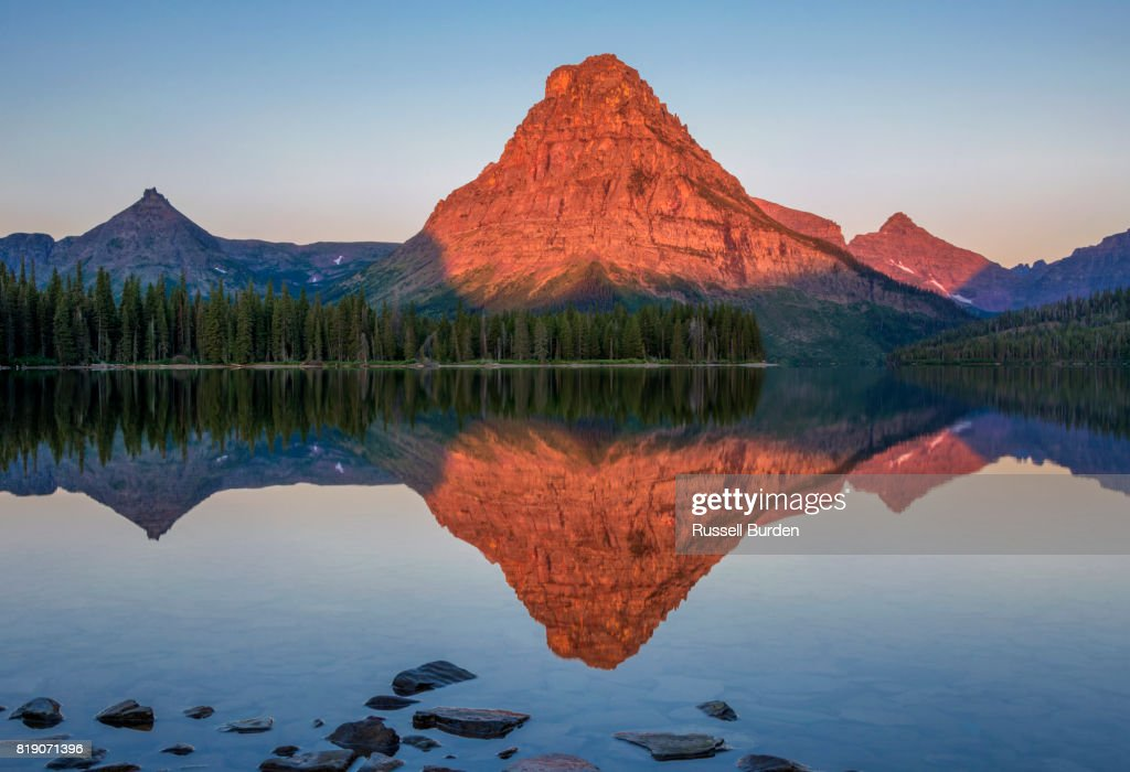 Glacier National Park : Foto de stock