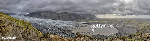"""geleira, em um dia nublado - """"sjoerd van der wal"""" or """"sjo"""" - fotografias e filmes do acervo"""
