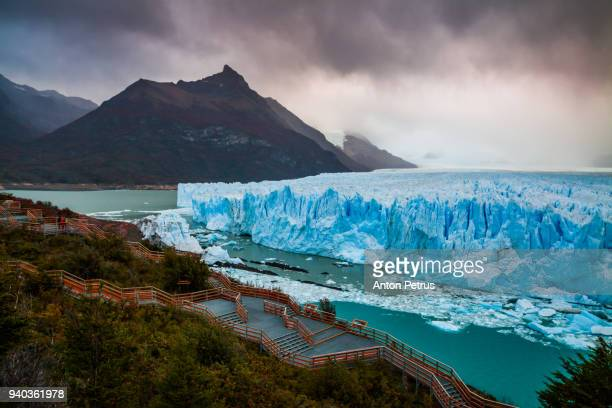 Glacier Perito Moreno in autumn. Argentina, Patagonia