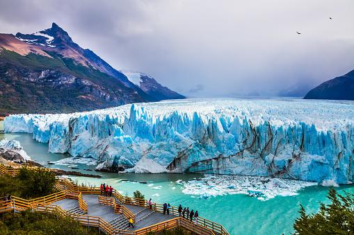 Glacier Perito Moreno in the Patagonia 867132920